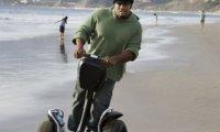 jízda vozítka segway na pláži